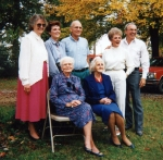 Family Reunion with Jimmy & Betty Rue, daughter Teresa, Mom (Cora) & Aunt Joyce